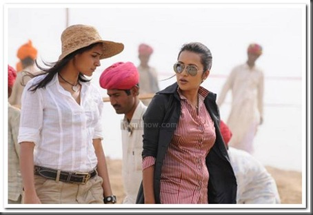 6Karthi,Andrea,Reema Sen Aayirathil Oruvan movie stills