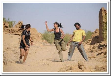 7Karthi,Andrea,Reema Sen Aayirathil Oruvan movie stills