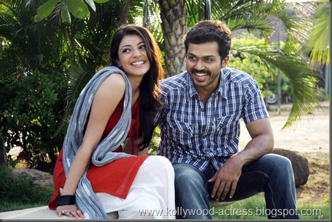 Karthi, kajal agarwal -Naan Mahaan Alla movie stills3