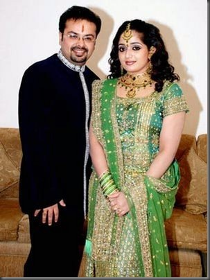 Kavya Madhavan Wedding Reception at Kuwait