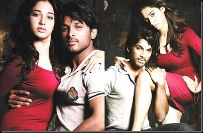 Tamanna,Allu Arjun for South Scope pictures1