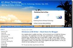 publish your blog online