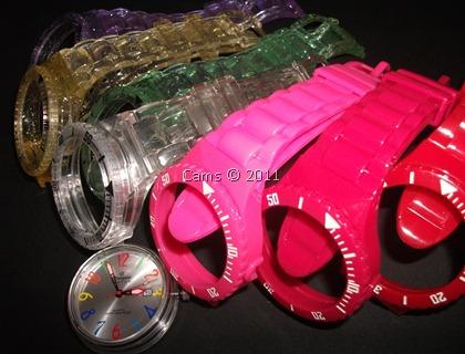 Minha coleção de pulseiras Champion