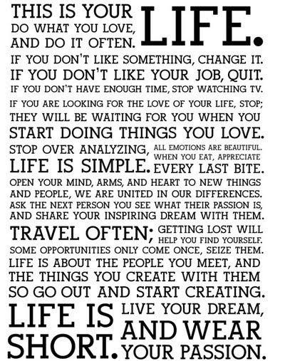 read it often, do what it say...