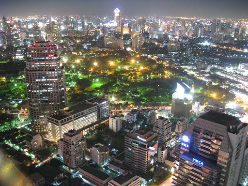 An Asian mega city