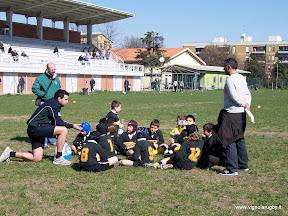 gli under 9 del Modena Junior di Marco Venturelli col nostro accompagnatore Alessandro Tassi