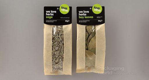 Love Olive Packaging Design / Retail Herb Packs