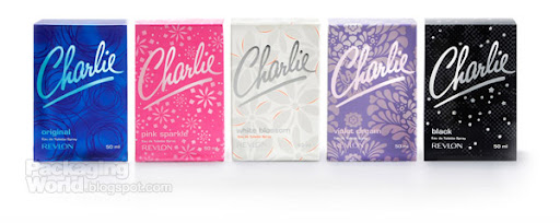 CHARLIE ORIGINAL, PINK SPARKLE, WHITE BLOSSOM, VIOLET DREAM & BLACK FRAGRANCE RANGE