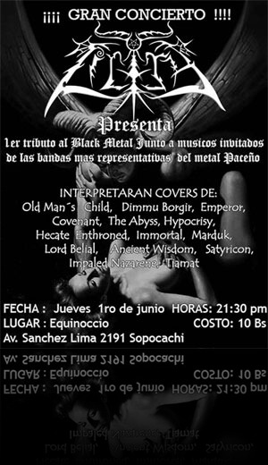 Lilith: Tributo al Black Metal