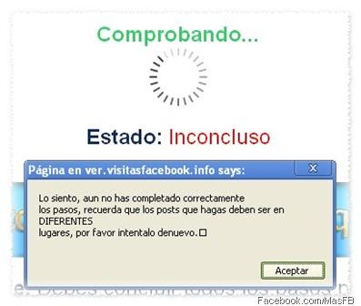 VisitasFacebook.info Fraude en Facebook | MasFB