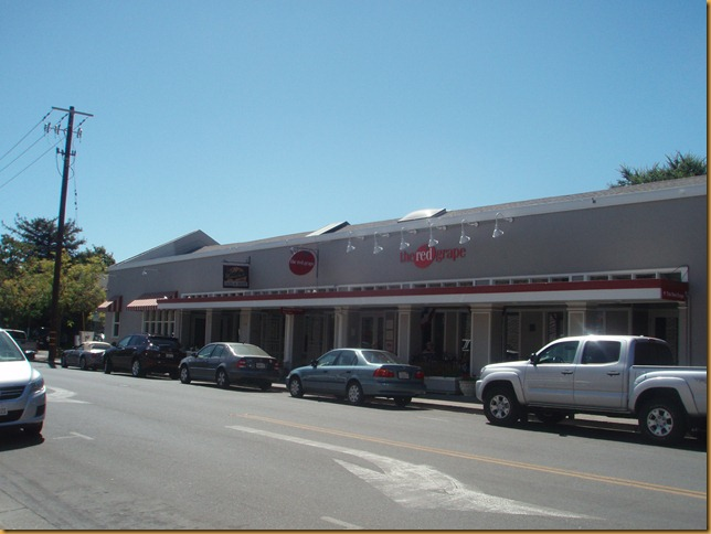 The Red Grape Storefront