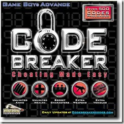 CodeBreaker Advance f