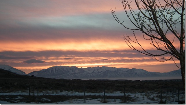 1-28-11 Sunrise