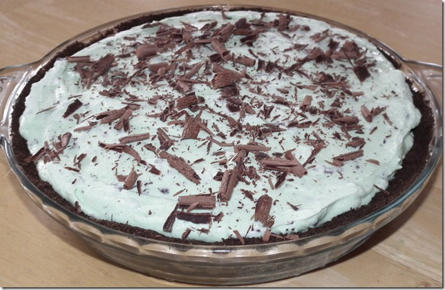 Fresh MInt Ice Cream PIe (TWD) 4-3-11