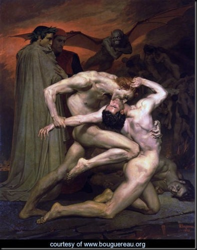 Dante-et-Virgile-au-Enfers-(Dante-and-Virgil-in-Hell)