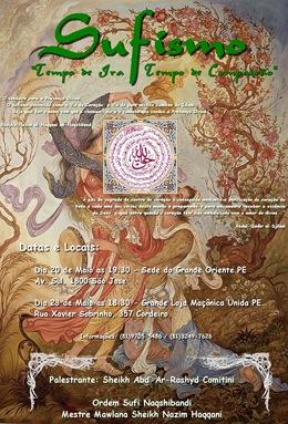 Palestra Sufi em Maio