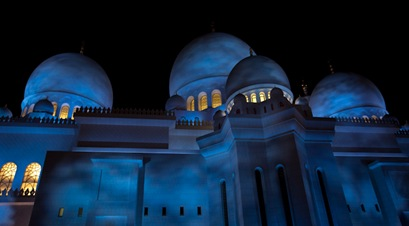 Grand Mosque at Night  (7 of 22)