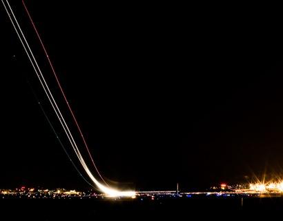 DCA Night Takeoff