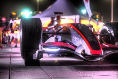 F1 on the Corniche