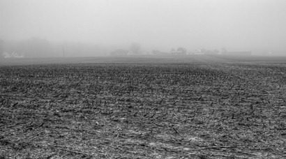Farm in the fog-Edit