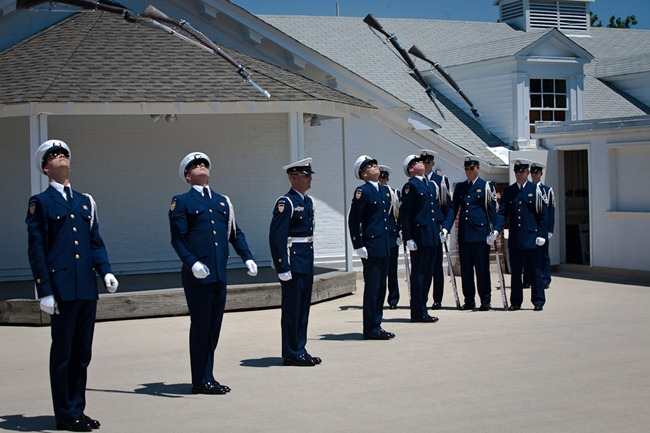 Coast Guard Silent Drill Team-13