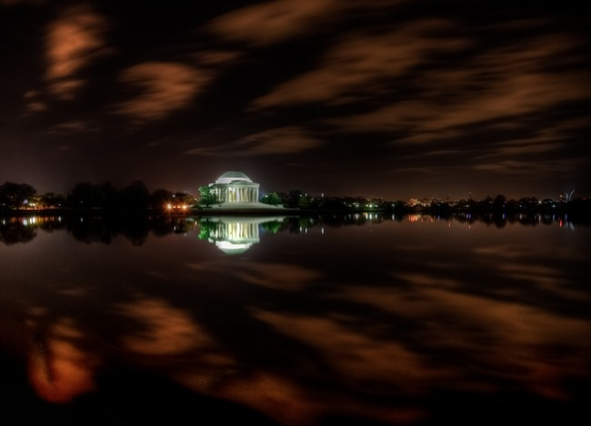 Jefferson Cloud Reflections