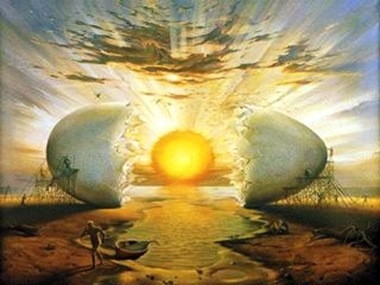 Ovo Cósmico de Salvador Dali