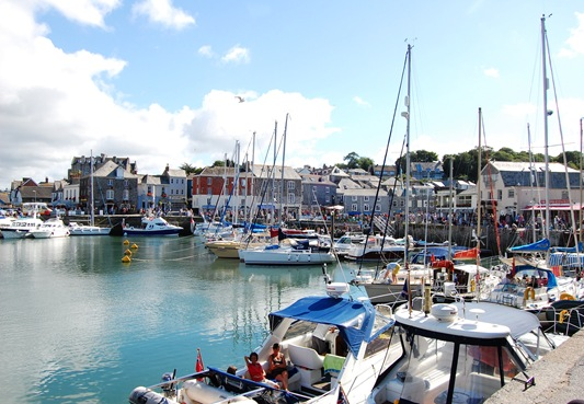 Afternoon with Syl & Andy at Padstow and Rock.