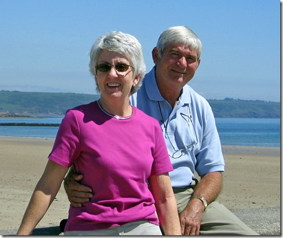 Maureen and Jerry in Ardmore.