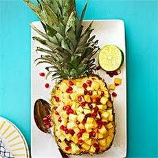 Pineapple & Pomegranate Salad