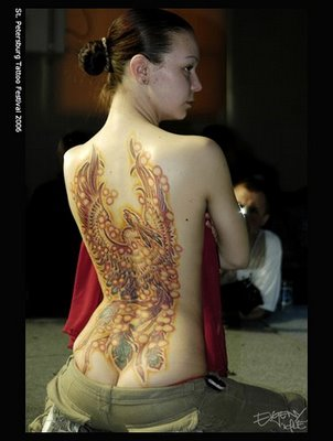 Female Japanese Tattoo Design. Female Japanese Tattoo Design (2)