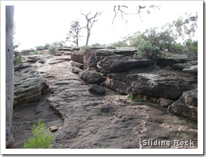 Sliding Rock Wilpena Pound (1)