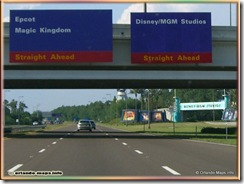 Walt Disney World Signage