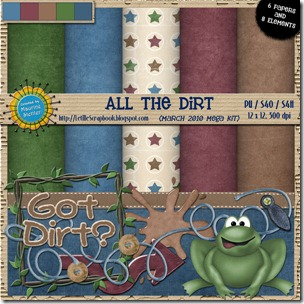 Preview for All the Dirt - Let Me Scrapbook
