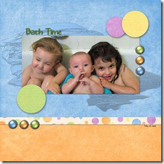 Bath Time (Julie)
