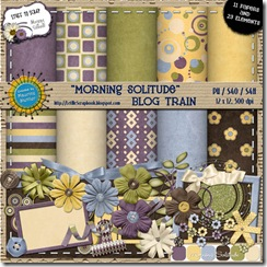 Preview for Morning Solitude - Let Me Scrapbook