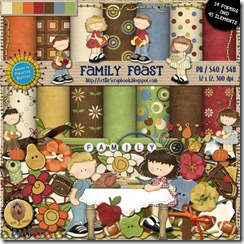 Preview for Family Feast - Let Me Scrapbook