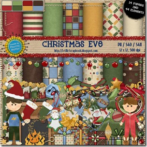 Preview for Christmas Eve - Let Me Scrapbook