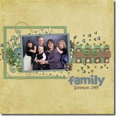 Julie Family-Dec-2009
