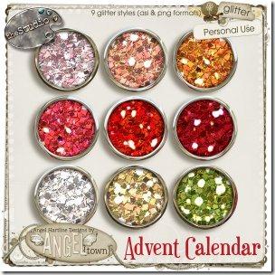Advent Calendar Glitter