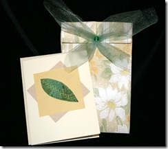 Leaf Card & Gift Bag