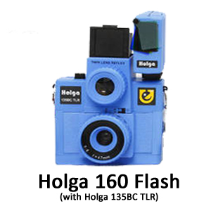 Holga 160 flash