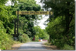 Dudhwa Gate