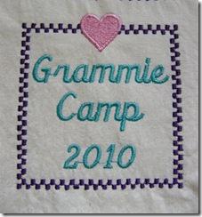 grammie camp patch
