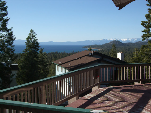 Lake Tahoe from upper deck