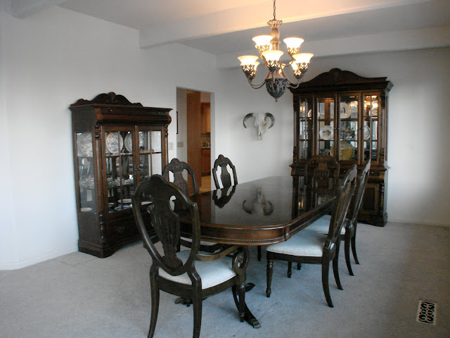 Lake Tahoe formal dining room