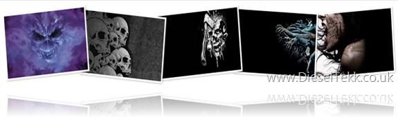 DieselTekk darkside netbook wallpaper collection 1024x600