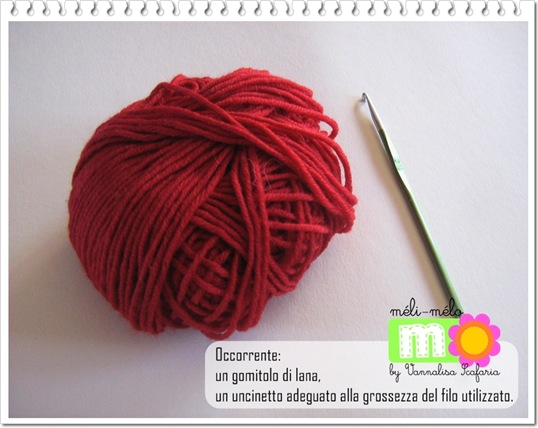 Fiore a uncinetto | Crochet flower: Tutorial