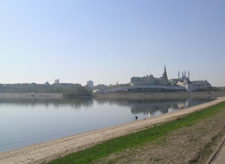 Вид на Кремль с северной стороны