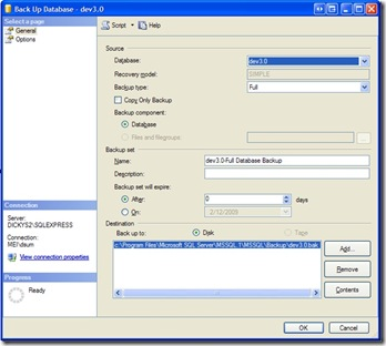 SQL Management Screenshoot1.1